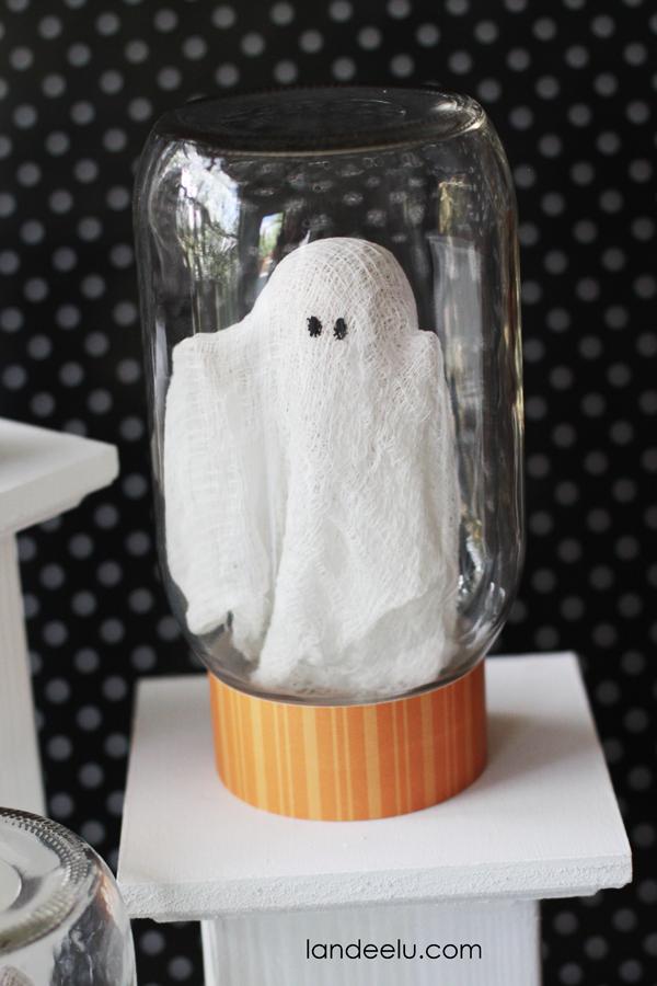 pet ghost in a jar