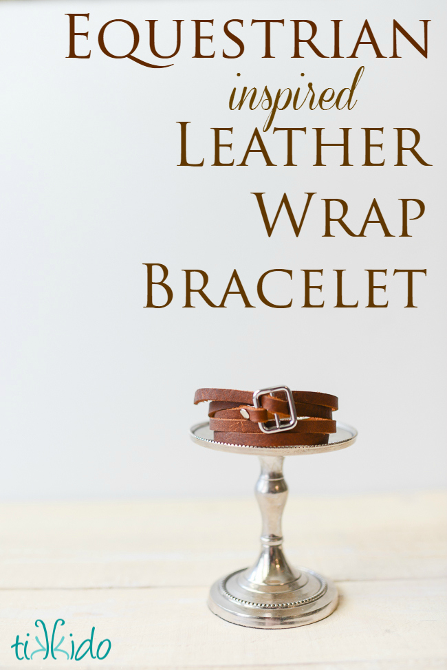 leather wrap bracelet jewelry tutorial