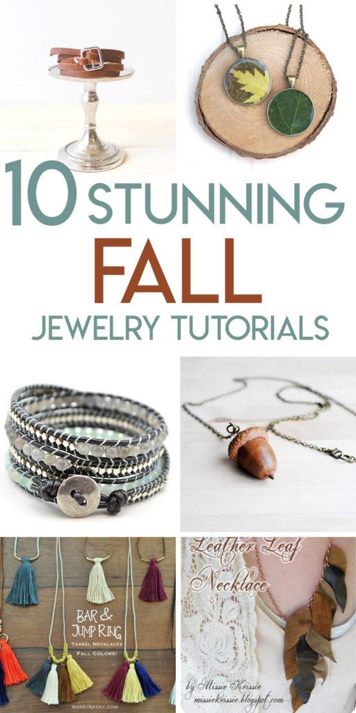 10 beautiful fall jewelry tutorials