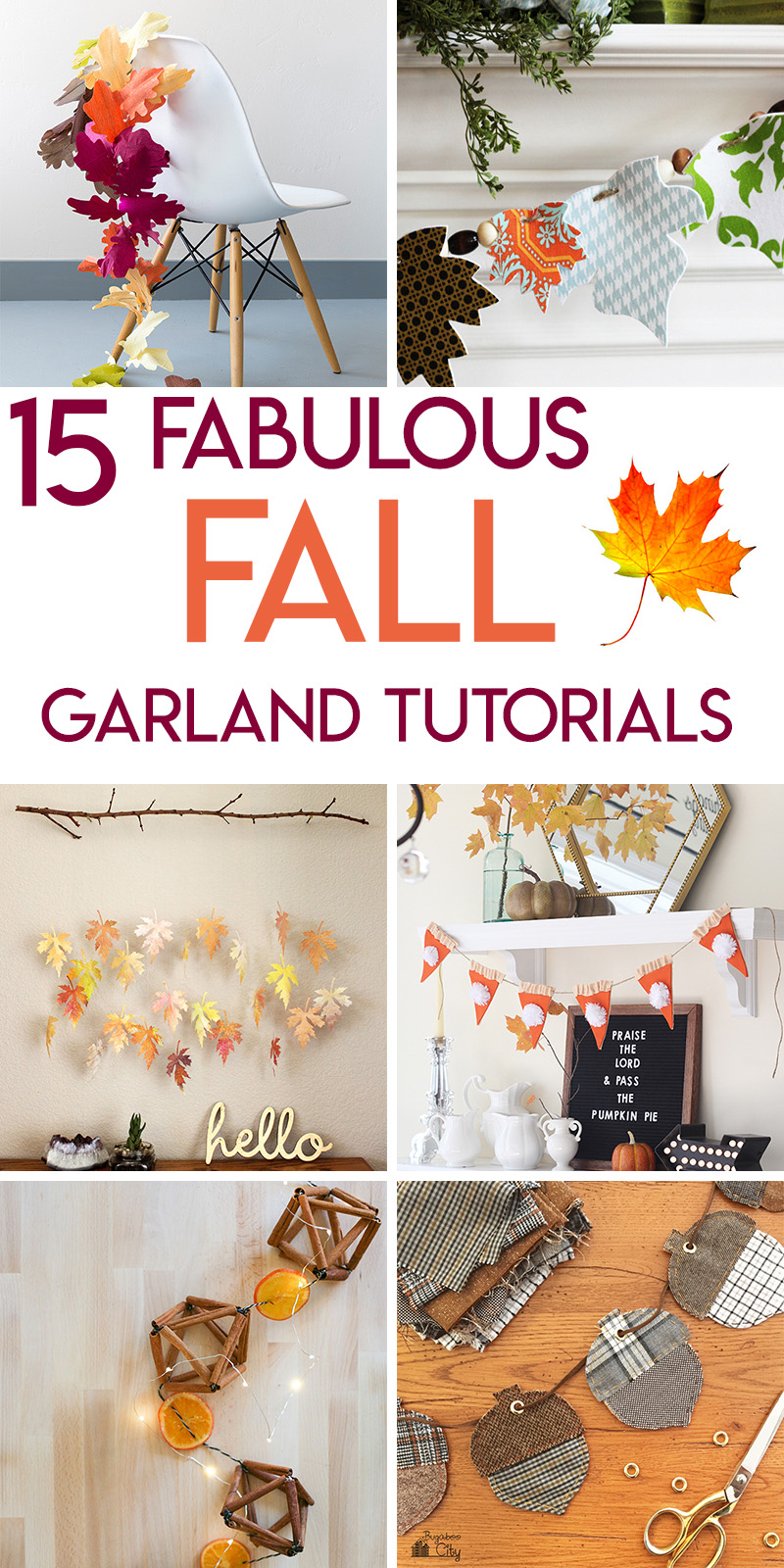 15 gorgeous fall garlands to make