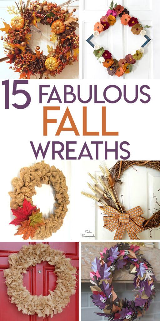 15 fabulous fall wreath tutorials