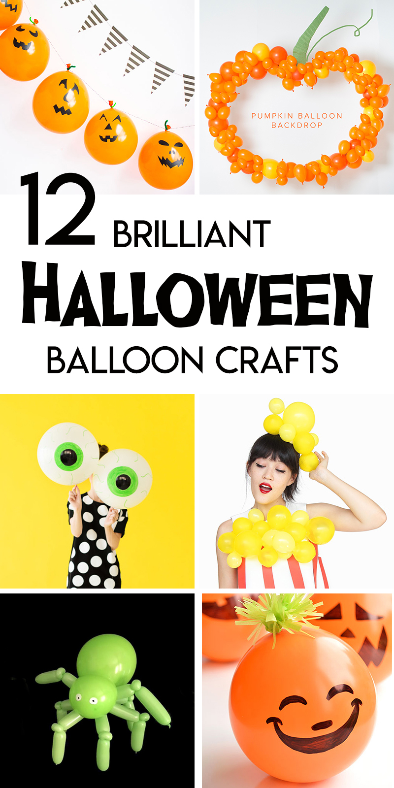 balloon tutorial halloween decorations