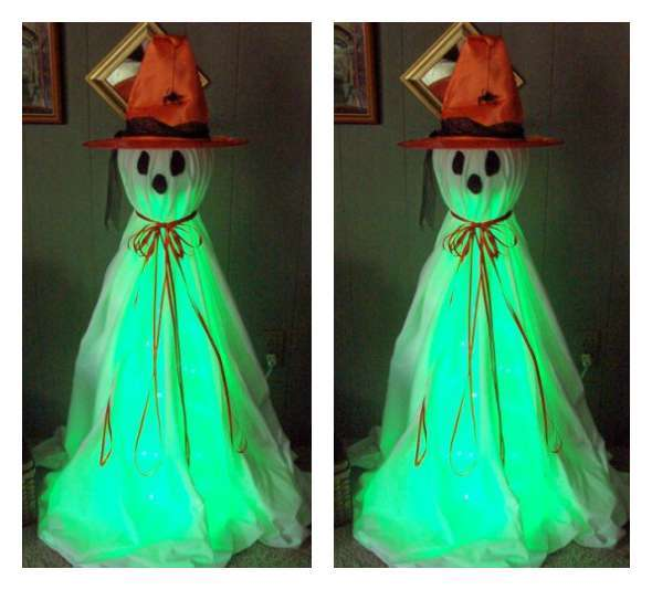 Halloween ghost witch decor