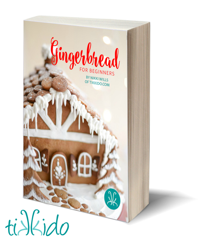 Gingerbread house tutorial, recipe, and printable templates
