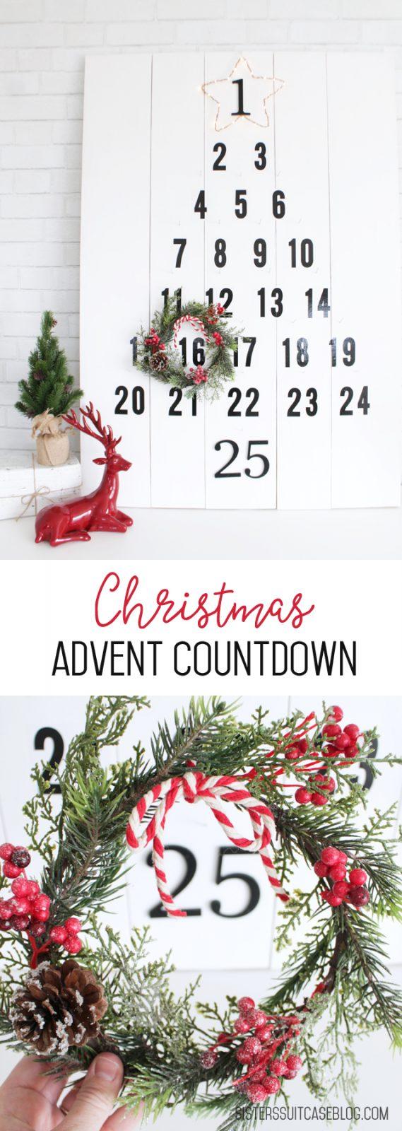 non candy DIY advent calendar