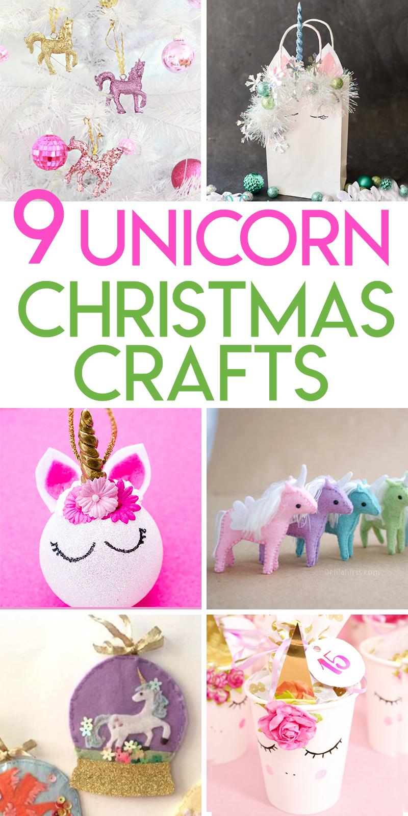 9 Unicorn Christmas crafts to DIY this holiday season