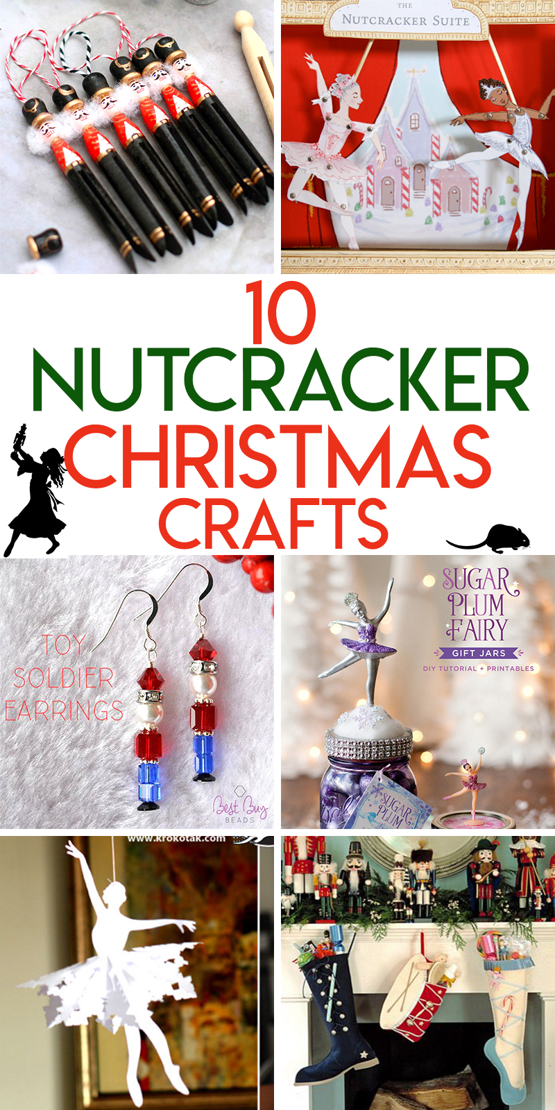 10 Magical nutcracker themed Christmas crafts