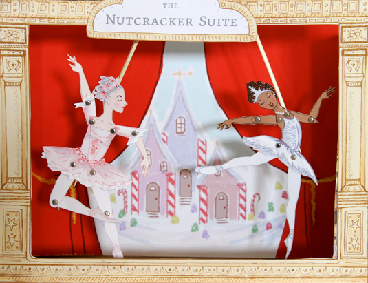 printable nutcracker ballet puppet theater and puppets
