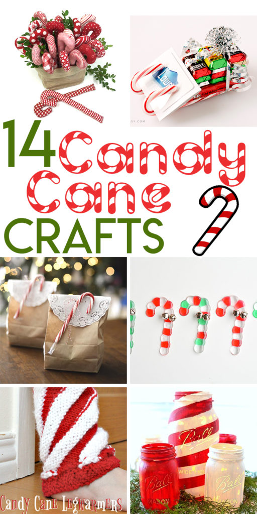 14 Candy Cane Themed Crafts to Make for Christmas