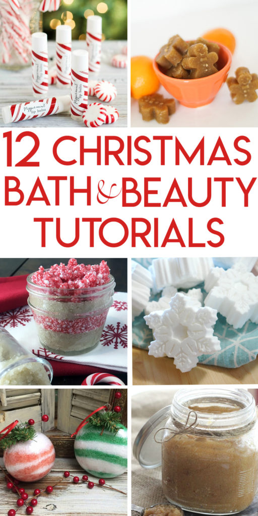 12 Christmas bath and beauty tutorials