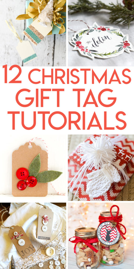 12 DIY Christmas gift tags to make for your presents