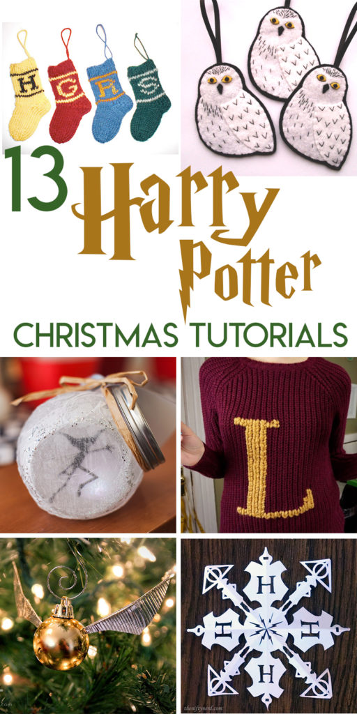 13 Harry Potter Christmas Crafts