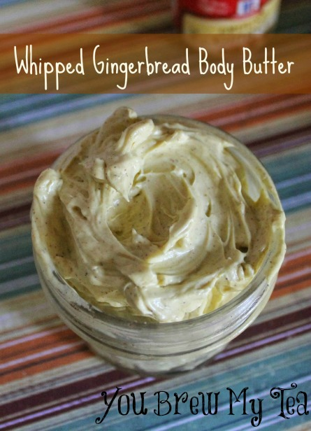 whipped gingerbread body butter tutorial