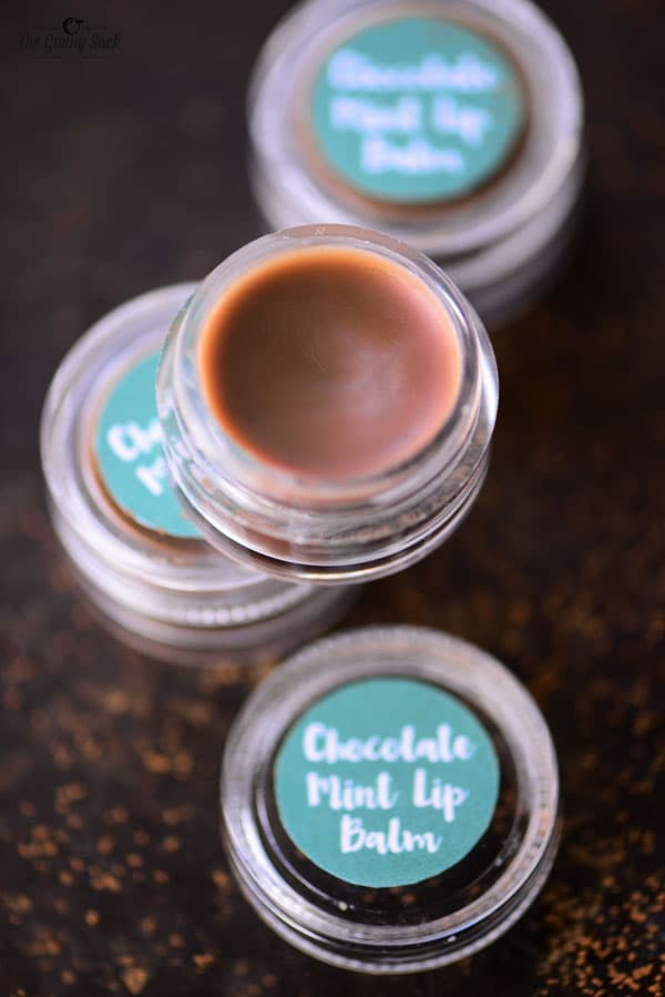 chocolate mint lip balm recipe and tutorial