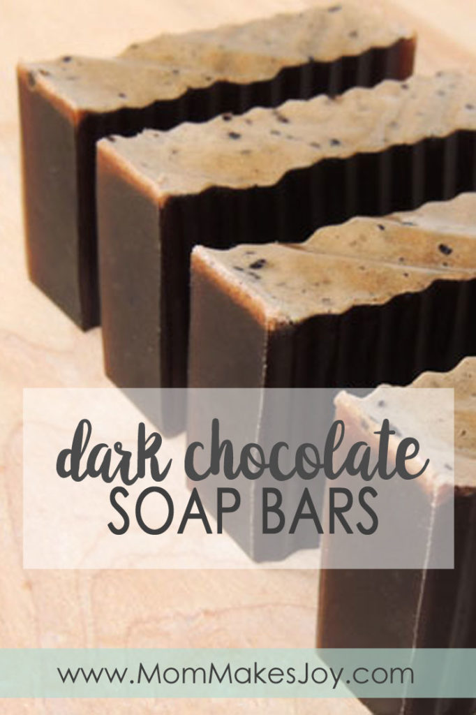 dark chocolate soap tutorial