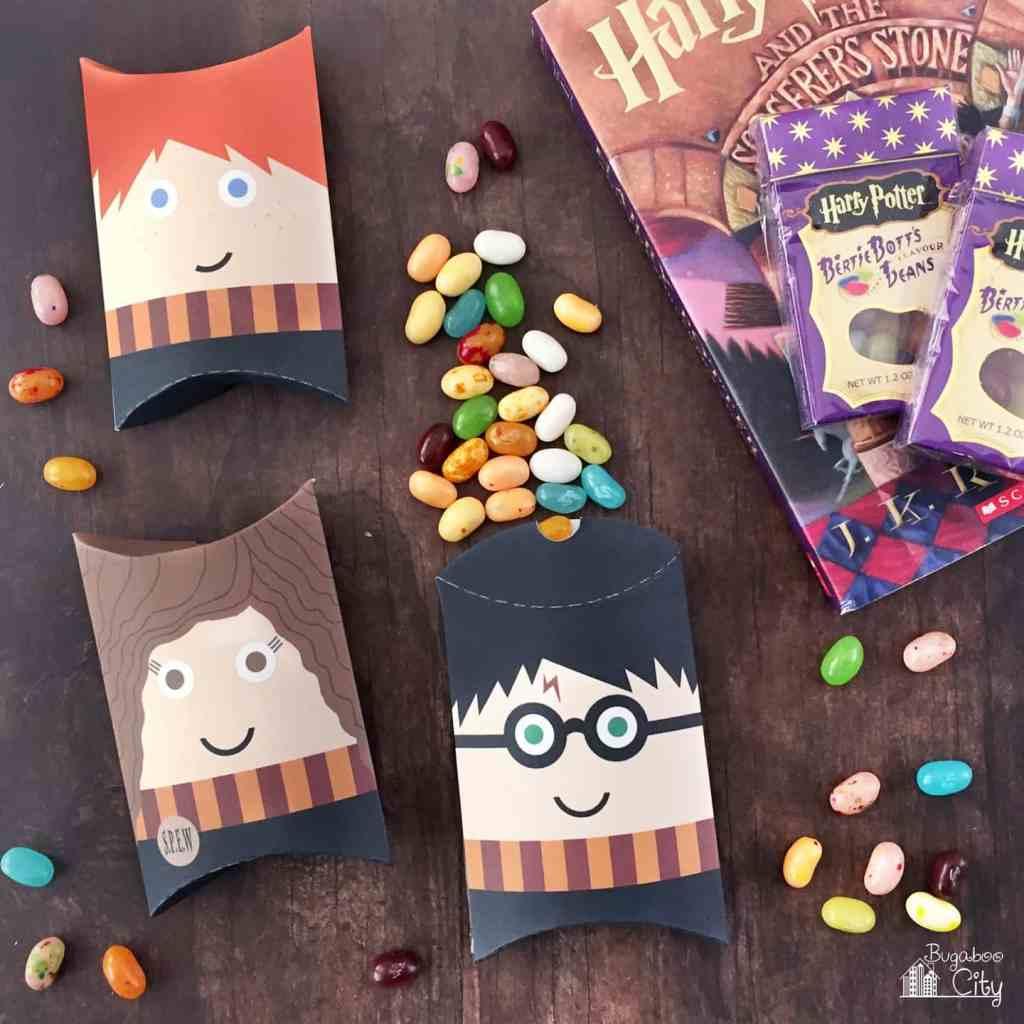 Harry Potter Pillow boxes printable