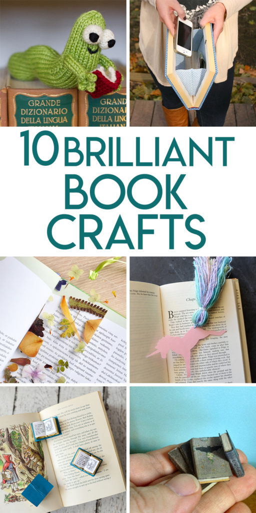 10 brilliant DIY craft projects for book lovers