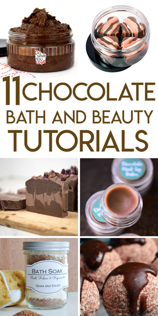 11 irresistible chocolate bath and beauty tutorials