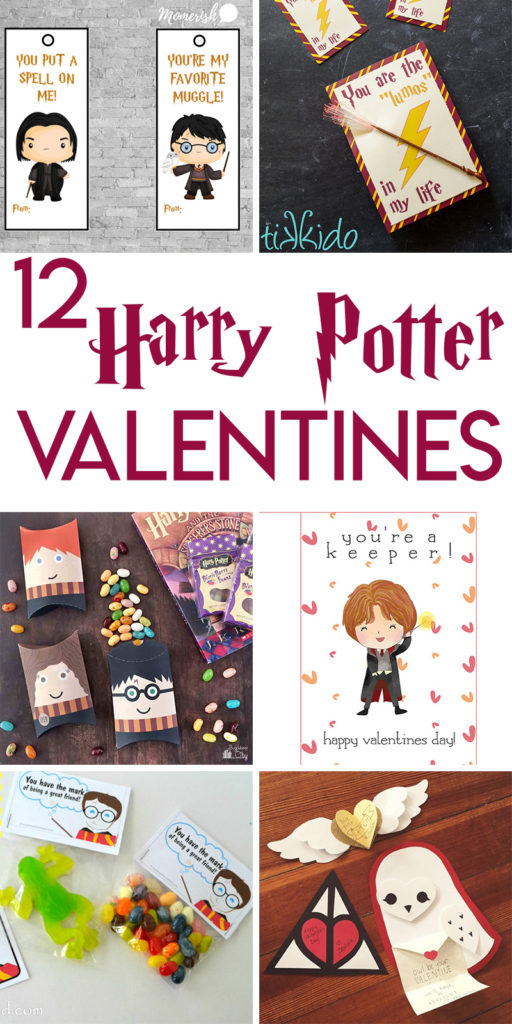 12 magical Harry Potter themed Valentines