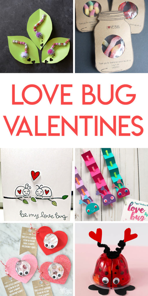 12 valentine's day love bug valentine tutorials