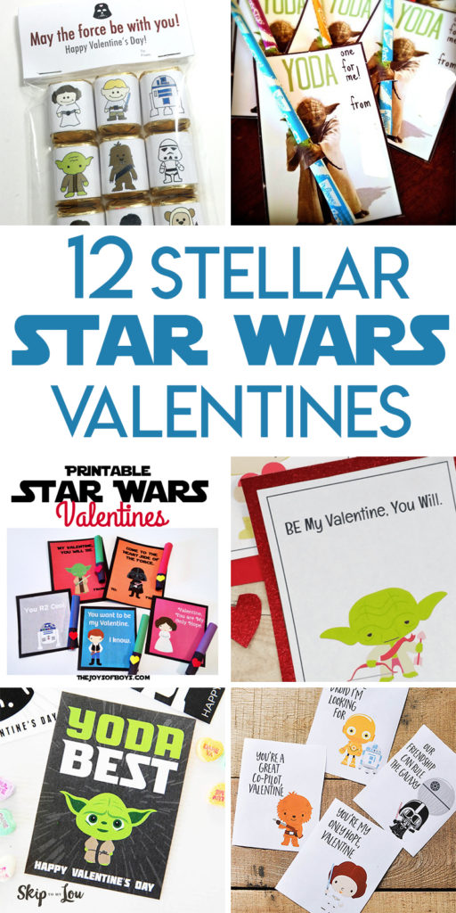 12 Stellar Star Wars Valentines to make and print