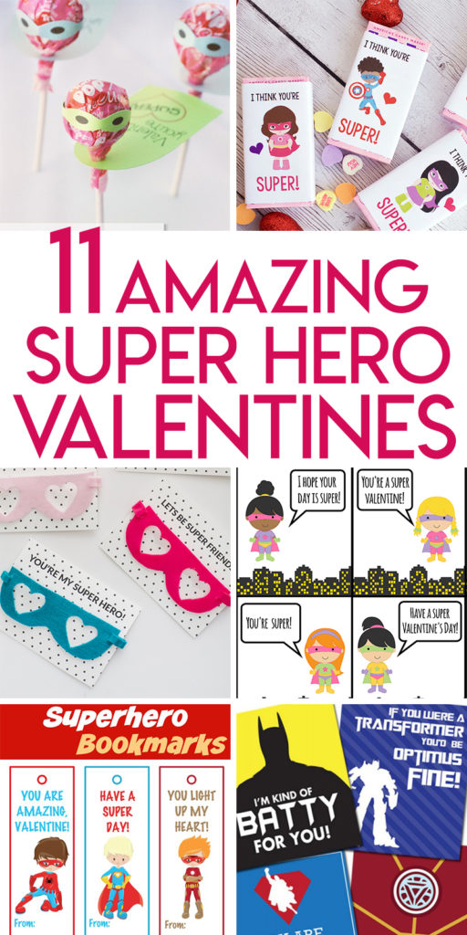 11 Amazing DIY Superhero Valentines