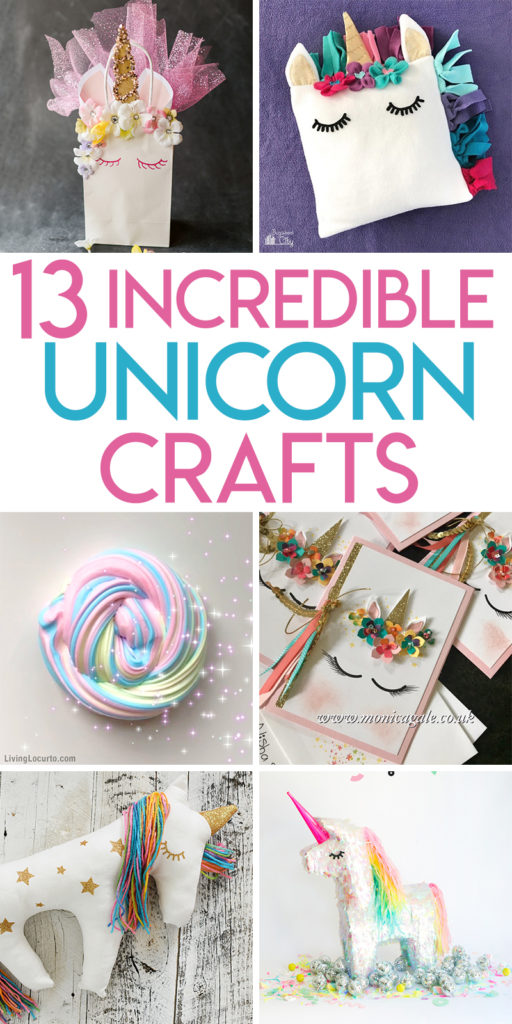 13 incredible unicorn crafts to make