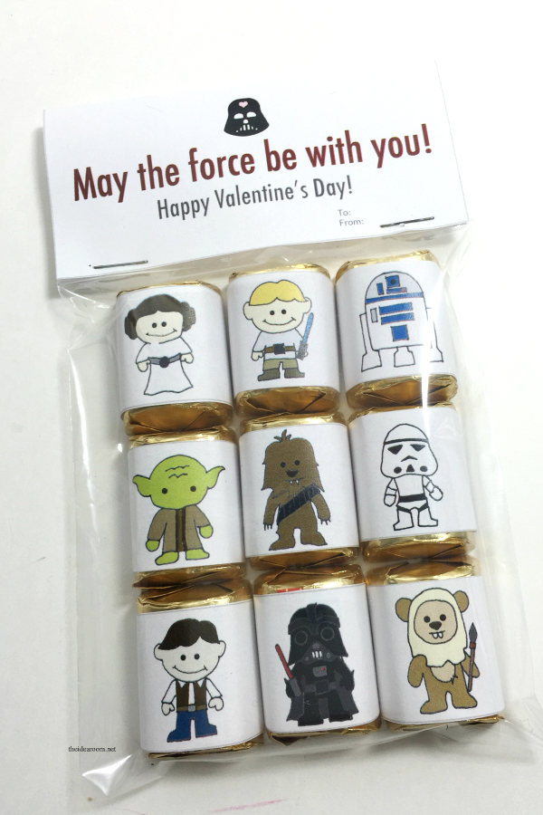 photograph about Star Wars Bookmark Printable known as 12 Stellar Star Wars Valentines with Absolutely free Printables