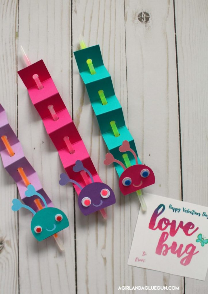 Valentine's day love bug non candy valentine tutorial