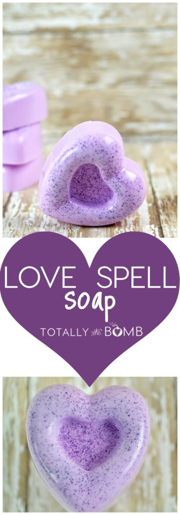 love spell Valentine's day soap