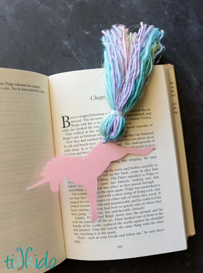 unicorn bookmark tutorial
