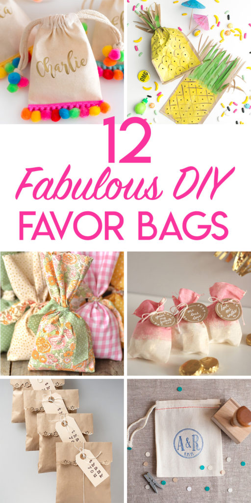 12 fabulous DIY favor bag tutorials