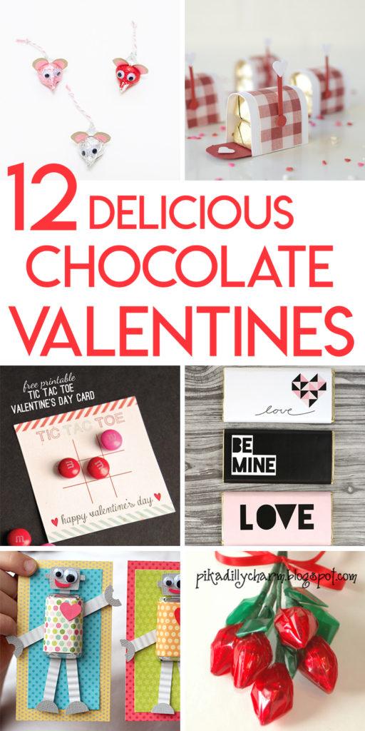 12 Delightful and Delicious Chocolate Valentine Tutorials