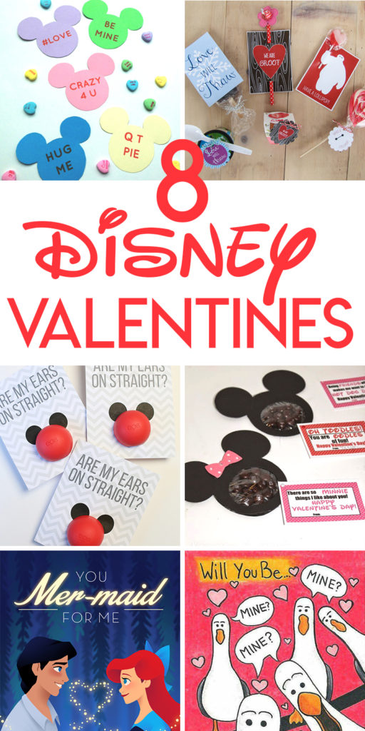 8 Disney Valentine's Day Crafts