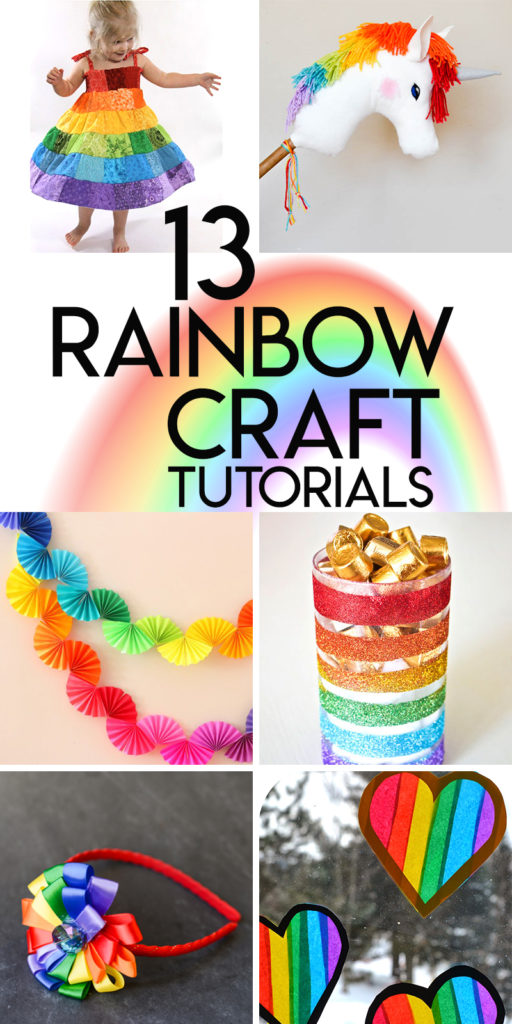 13 radiant rainbow crafts to brighten your day