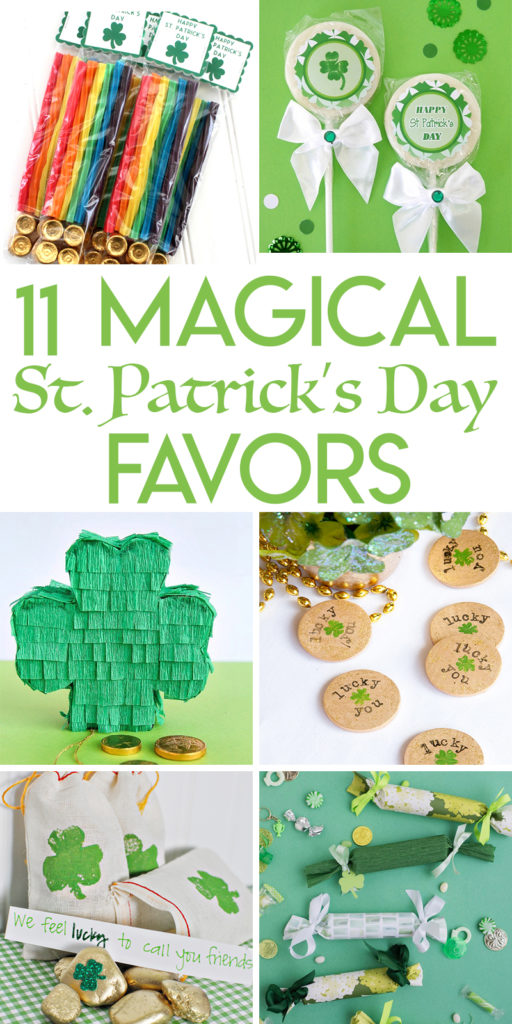 12 St. patrick's day favor tutorials