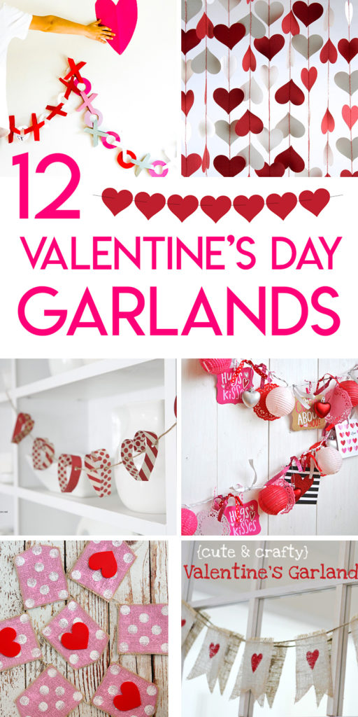 12 gorgeous valentine's day garlands and bunting tutorials